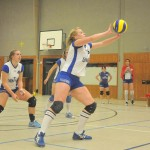 Fanny Merting am Ball