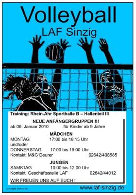 LAF Sinzig Anfängergruppen ab 2010