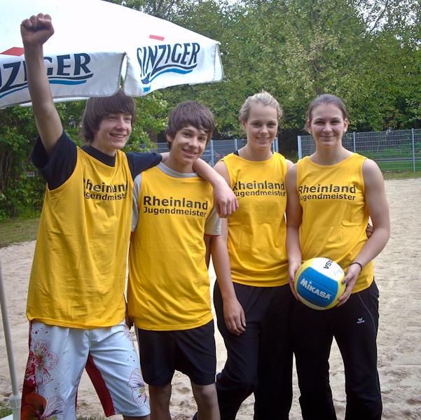 LAF-Beacher gewinnen beide Rheinland-Titel