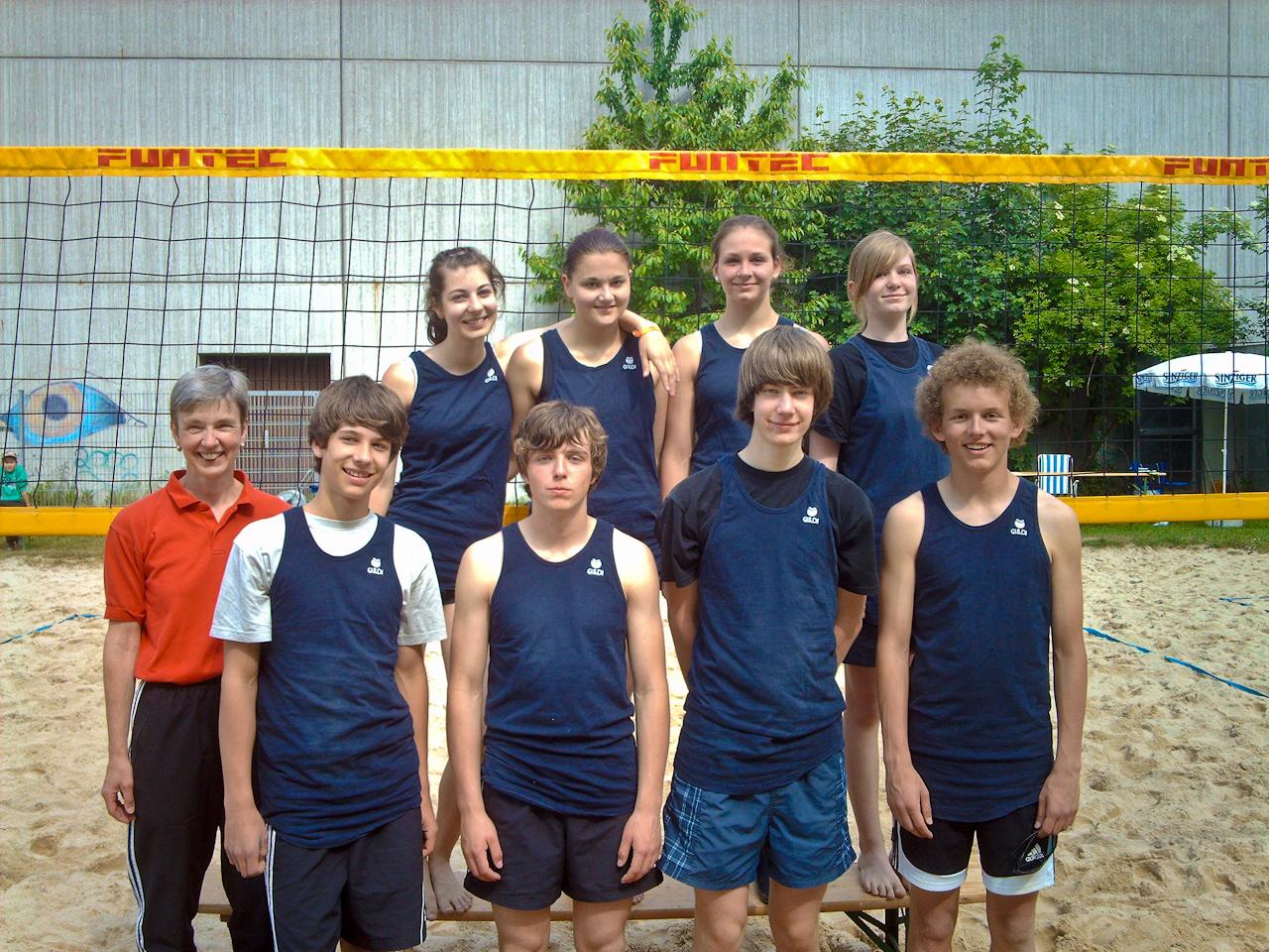 Beach-Volleyballer des Rhein-Gymnasiums gewinnen den Regionalentscheid