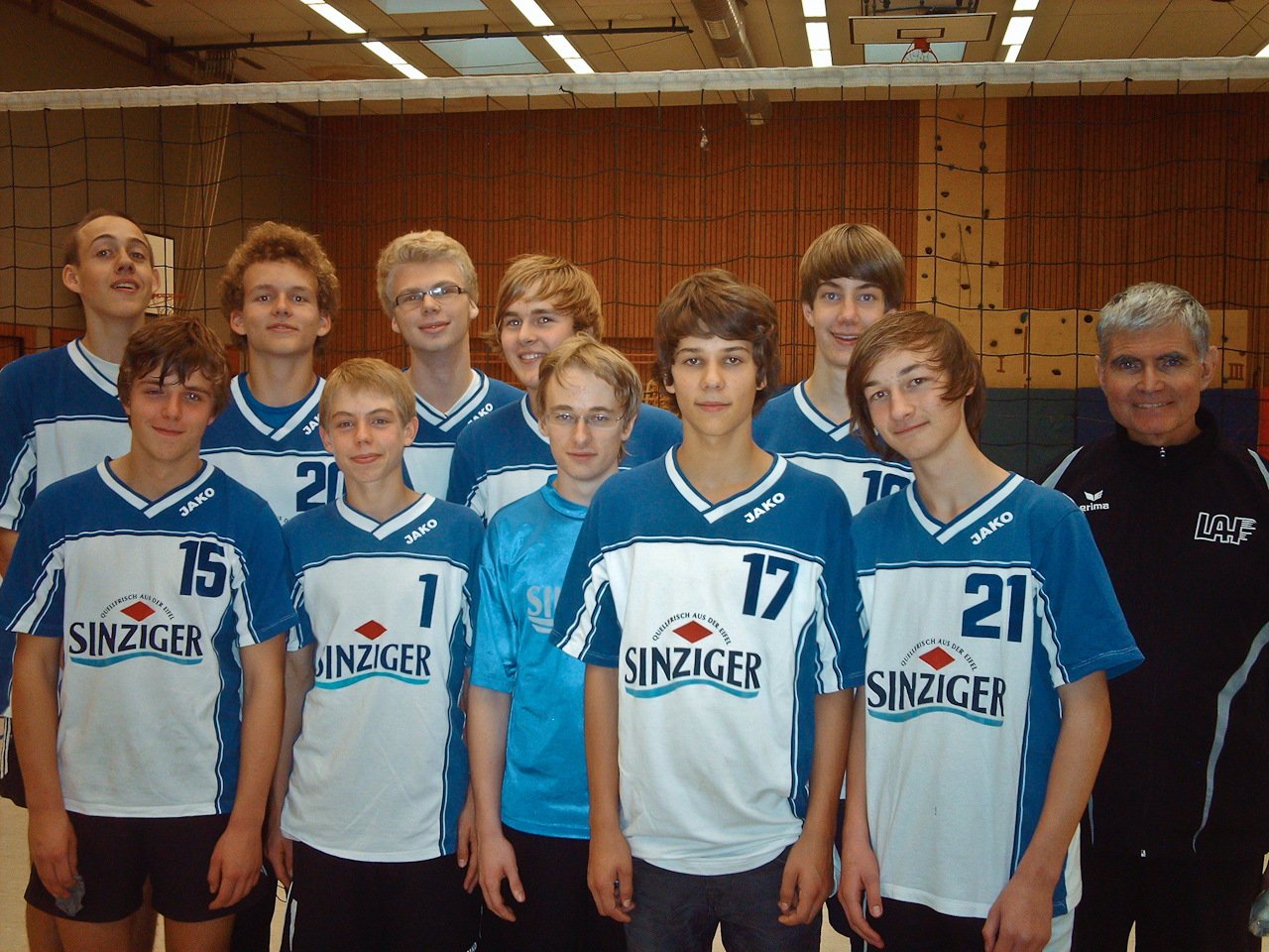 Die männliche U 18 der LAF Sinzig wird Rheinland-Meister!