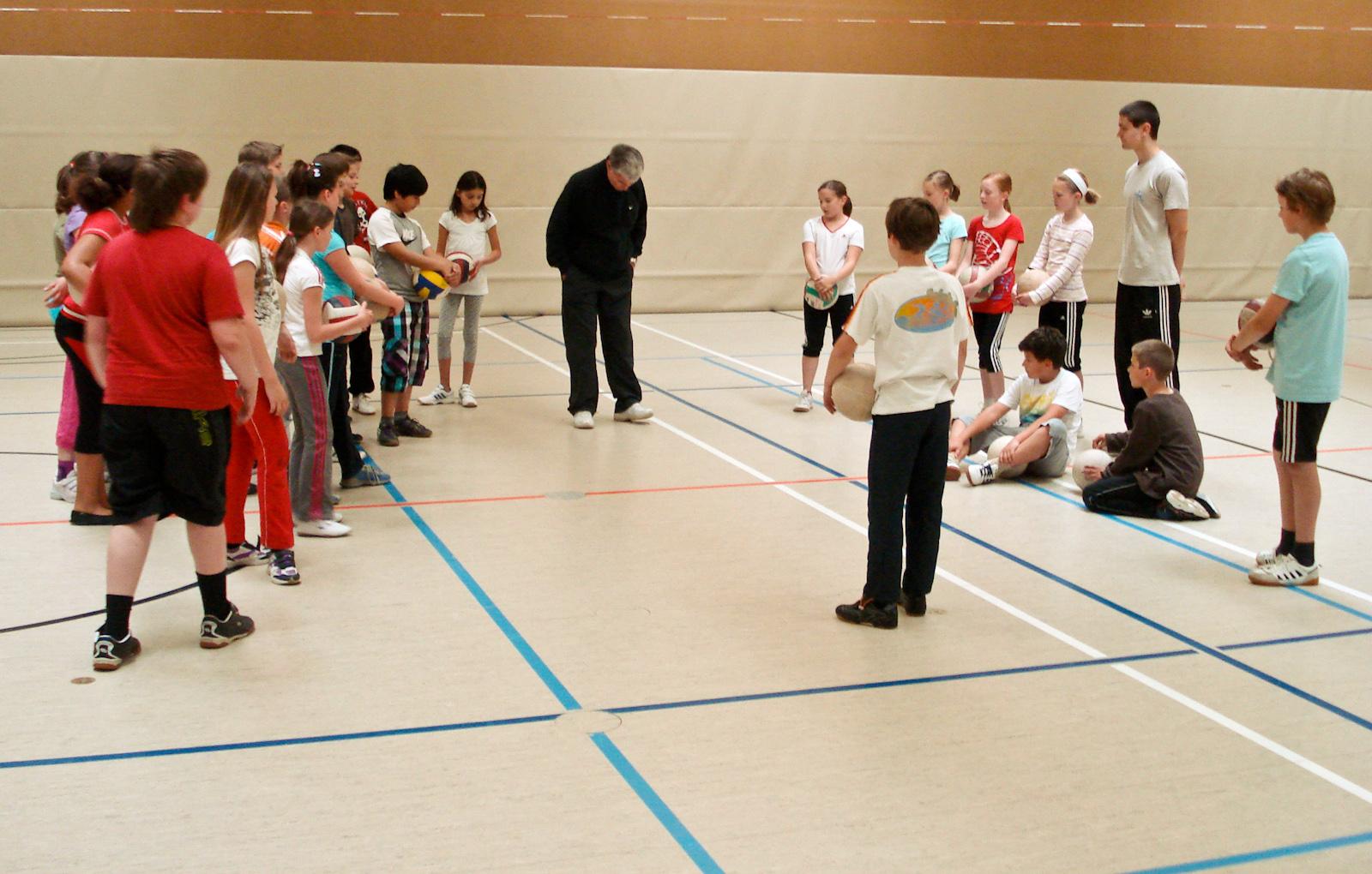 Schulaktion am Sinziger Rhein-Gymnasium