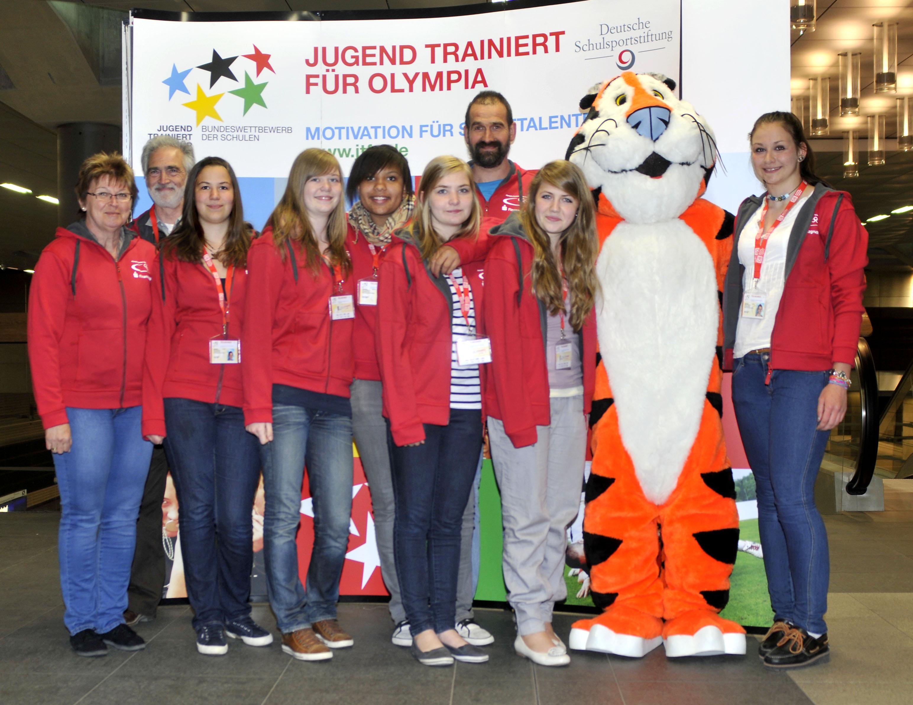 Volleyballerinnen des Rhein-Gymnasiums Sinzig belegen Platz sieben in Berlin