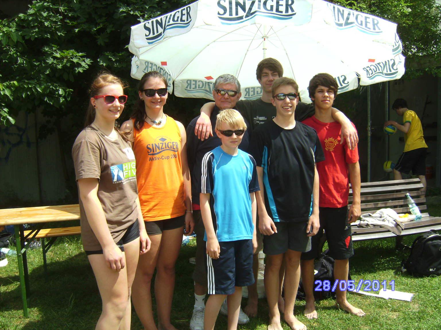 Fünf Rheinland-Meiterschaften für jugendliche LAF-Beach-Volleyballer