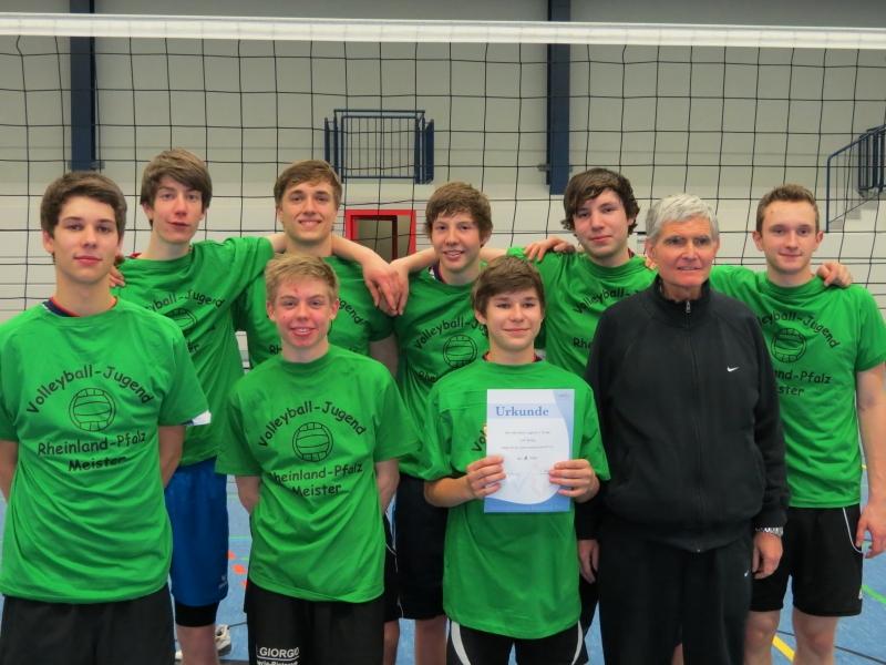 Volleyball-Rückblick 04./05.02.12 – LAF Sinzig wird Rheinland-Pfalz-Meister!