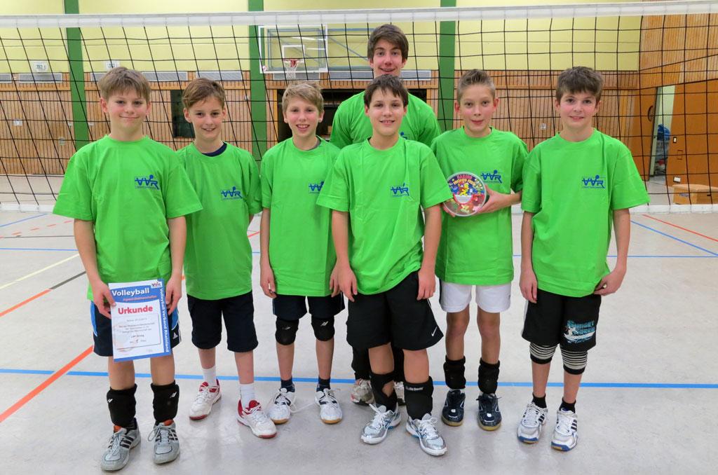 Volleyball-Rückblick 01.12.12 – LAF-Jugend wird Rheinland-Meister!