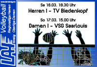 Volleyball-Vorschau 16./17.03.13