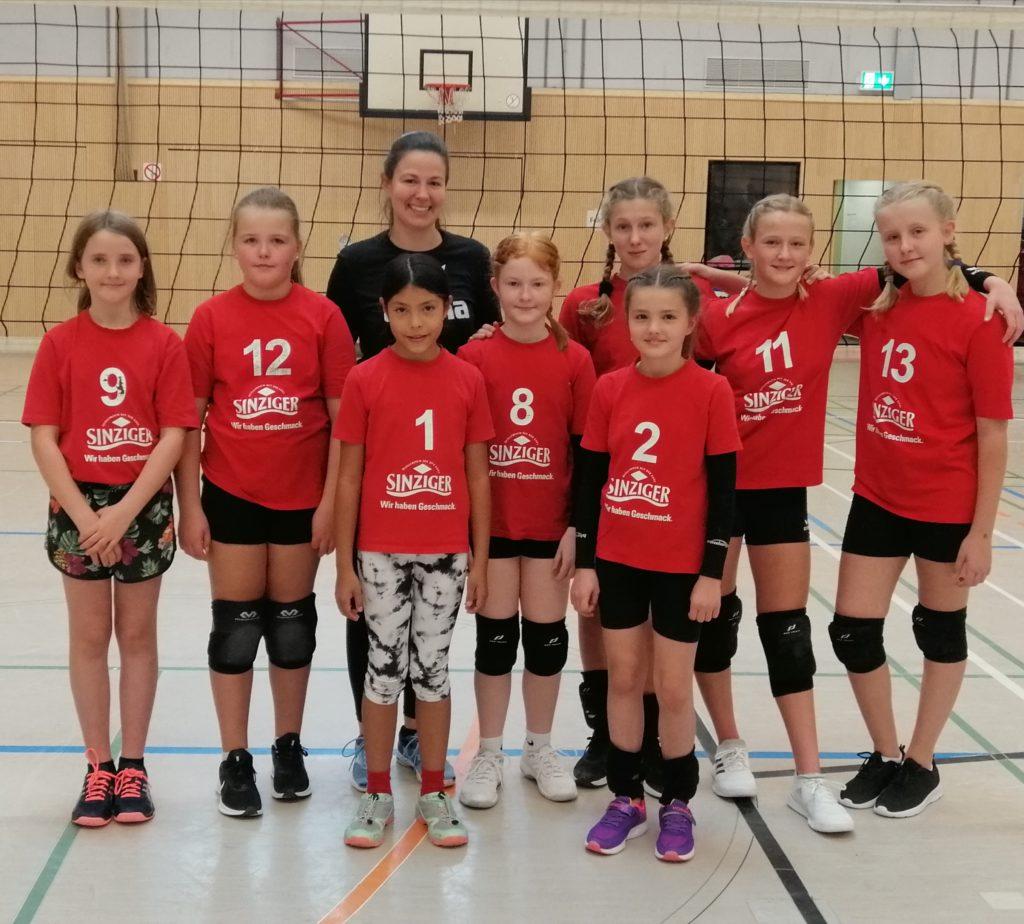 U13 und U14 Mädels beim Drachencup beim SV Wachtberg